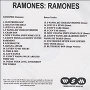 Click here for more info about 'The Ramones - Ramones'