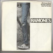 Click here for more info about 'The Ramones - Rockaway Beach + Sleeve + Release date stickered label'