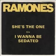 Click here for more info about 'The Ramones - She's The One - Wide-centred - EX'