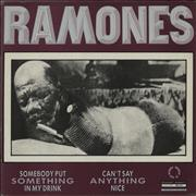 Click here for more info about 'The Ramones - Somebody Put Something In My Drink + Poster'