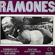 Click here for more info about 'The Ramones - Somebody Put Something In My Drink'