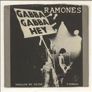 Click here for more info about 'The Ramones - Swallow My Pride - P/S - VG'