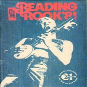 Click here for more info about 'The Reading Festival - Reading Rock '81 - Autographed'