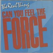 Click here for more info about 'The Real Thing - Can You Feel The Force - '86 Mix'