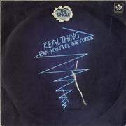 Click here for more info about 'The Real Thing - Can You Feel The Force?'