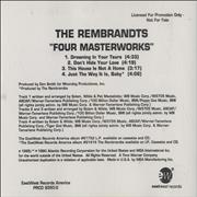 Click here for more info about 'The Rembrandts - Four Masterworks'