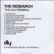 Click here for more info about 'The Research - The Old Terminal'