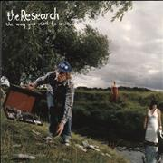 Click here for more info about 'The Research - The Way You Used To Smile - Green Vinyl'