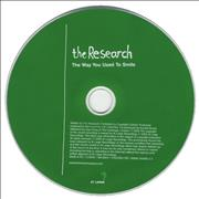 Click here for more info about 'The Research - The Way You Used To Smile'