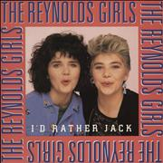 Click here for more info about 'The Reynolds Girls - I'd Rather Jack - p/s'