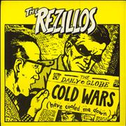 "The Rezillos Cold Wars + Sleeve UK 7"" vinyl"