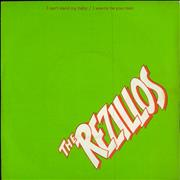 "The Rezillos I Can't Stand My Baby UK 7"" vinyl"