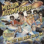 The Rezillos Mission Accomplished... But the Beat Goes On UK vinyl LP