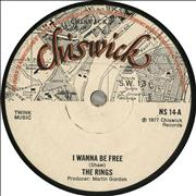 Click here for more info about 'The Rings - I Wanna Be Free - 2nd'