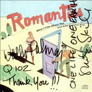 Click here for more info about 'The Romantics - What I Like About You - Autographed'