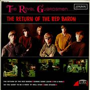 The Royal Guardsmen The Return Of The Red Baron UK vinyl LP