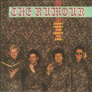 Click here for more info about 'The Rumour - I Don't Want The Night To End - A-Label + P/S'