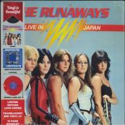 Click here for more info about 'The Runaways - Live In Japan - Red Vinyl - Sealed'