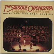 The Salsoul Orchestra Greatest Disco Hits - Music For Non-Stop Dancing UK vinyl LP