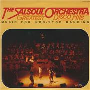 The Salsoul Orchestra Greatest Hits USA vinyl LP
