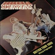 Click here for more info about 'The Scorpions - British Tour 1980 - EX'