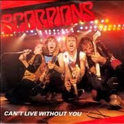 Click here for more info about 'The Scorpions - Can't Live Without You - Clear Vinyl + P/S'