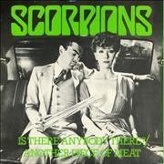 Click here for more info about 'The Scorpions - Is There Anybody There ? - Green Vinyl - P/S'