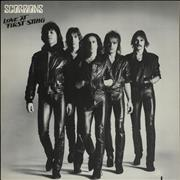 The Scorpions Love At First Sting USA vinyl LP