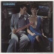 The Scorpions Lovedrive - shrink UK vinyl LP