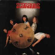Click here for more info about 'The Scorpions - Lovedrive'