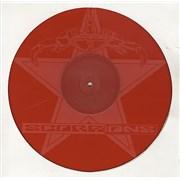 "The Scorpions Wind Of Change - Red Vinyl UK 12"" vinyl"