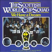 Click here for more info about 'The Scottish World Cup Squad - We Have A Dream'