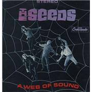 The Seeds A Web Of Sound Greece vinyl LP
