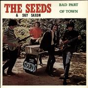 The Seeds Bad Part Of Town France vinyl LP