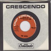 "The Seeds Fallin' Off The Edge Of My Mind USA 7"" vinyl"