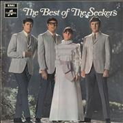 Click here for more info about 'The Seekers - The Best Of The Seekers - two box label'