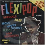 Click here for more info about 'Flexipop Magazine No. 1 + 7