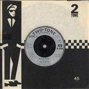 Click here for more info about 'The Selecter - Missing Words - Injection Label - EX'