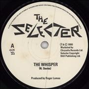 Click here for more info about 'The Selecter - The Whisper - Paper labels/Company sleeve'