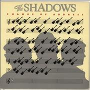 Click here for more info about 'The Shadows - Change Of Address + Merchandise insert'