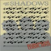 Click here for more info about 'The Shadows - European Tour 1980'