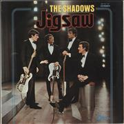 Click here for more info about 'The Shadows - Jigsaw - Red Vinyl'