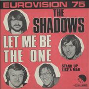 Click here for more info about 'The Shadows - Let Me Be The One'