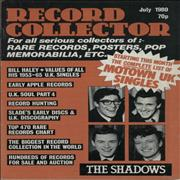 Click here for more info about 'The Shadows - Record Collector - July 1980, August 1981 & May 1982'