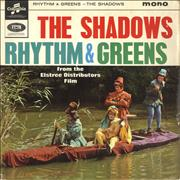 Click here for more info about 'The Shadows - Rhythm & Greens EP - VG'