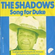 Click here for more info about 'The Shadows - Song For Duke'