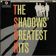 Click here for more info about 'The Shadows - The Shadows' Greatest Hits - 1st - EX'