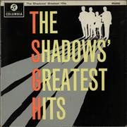 Click here for more info about 'The Shadows - The Shadows' Greatest Hits - 2nd - EX'