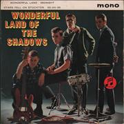 Click here for more info about 'The Shadows - Wonderful Land Of The Shadows EP - 1st - VG'