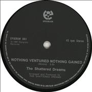Click here for more info about 'The Shattered Dreams - Nothing Ventured Nothing Gained'
